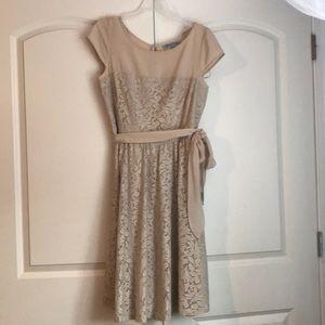 Formal Cream lace dress
